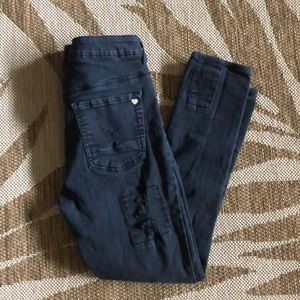 Kendal & Kylie high waist jeans